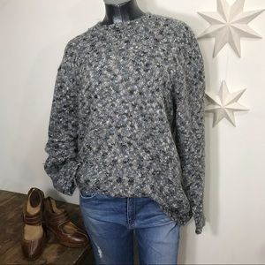 Vintage oversized summit hill  soft mohair sweater